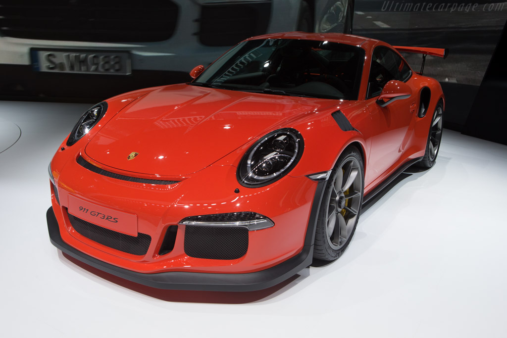 Porsche 911 GT3 RS    - 2015 Geneva International Motor Show