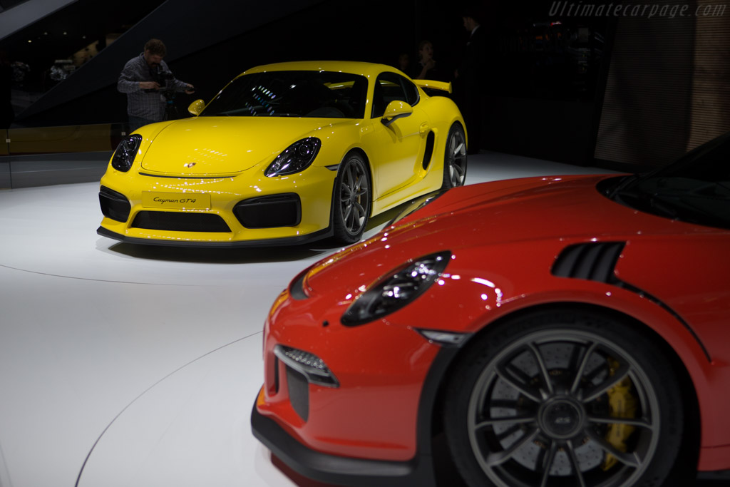 Porsche Cayman GT4    - 2015 Geneva International Motor Show