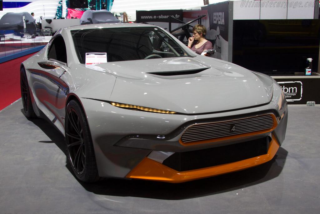 Sbarro Aria    - 2015 Geneva International Motor Show