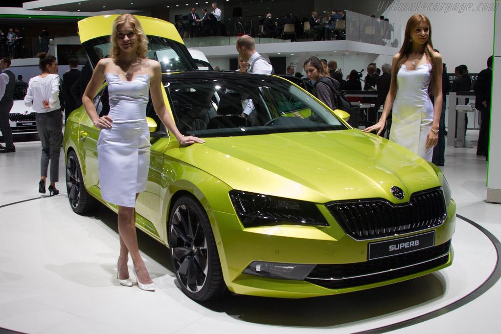 Skoda Superb    - 2015 Geneva International Motor Show