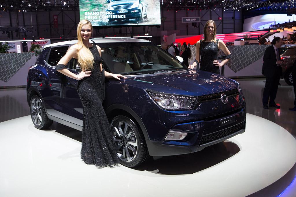 SsangYong Tivoli    - 2015 Geneva International Motor Show