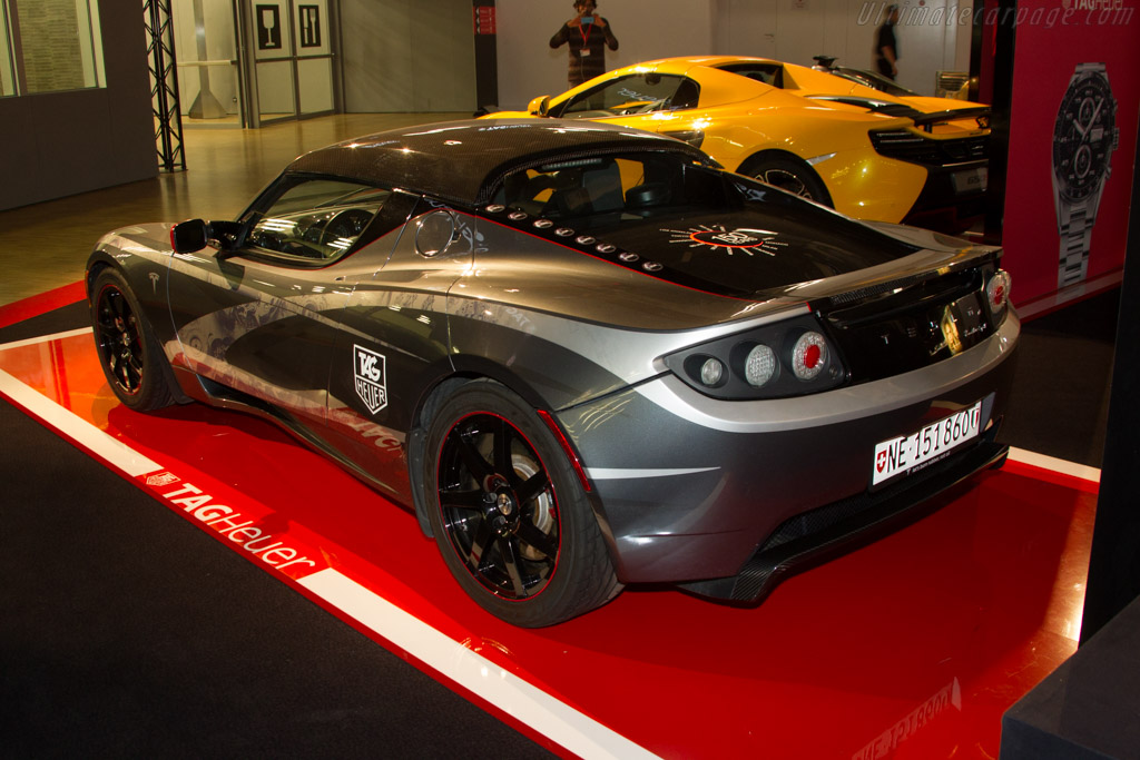 Tesla Roadster    - 2015 Geneva International Motor Show