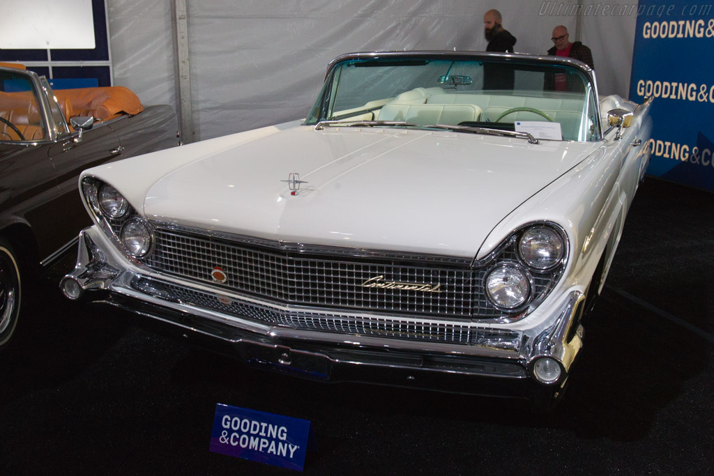 lincoln continental convertible chassis h9yc419424 2017 scottsdale auctions