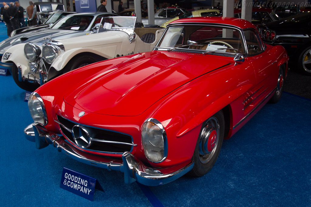 Mercedes benz 300 sl roadster chassis for Mercedes benz sl roadster