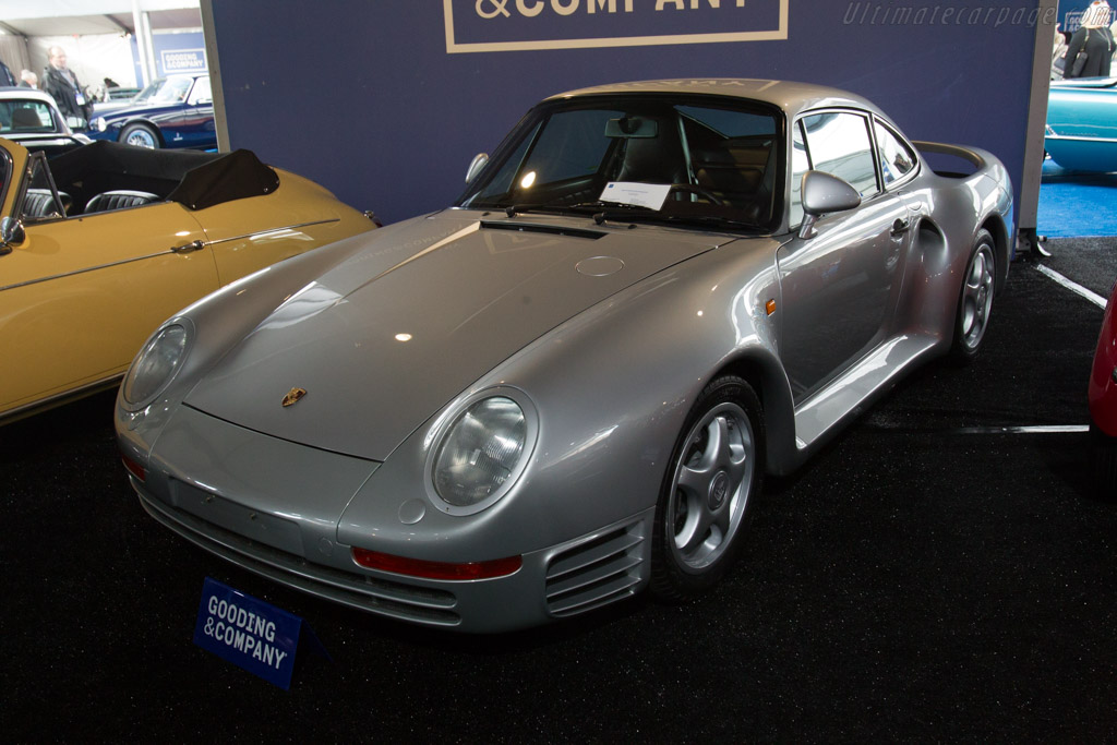 Porsche 959 'Komfort' - Chassis: WP0ZZZ95ZJS900182   - 2017 Scottsdale Auctions