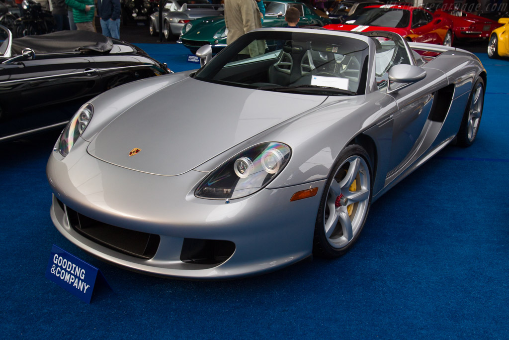 porsche carrera gt chassis wp0ca298x5l001466 2017 scottsdale auctions. Black Bedroom Furniture Sets. Home Design Ideas