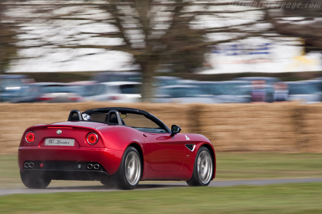 Alfa Romeo 8C Spider    - 2010 Goodwood Preview