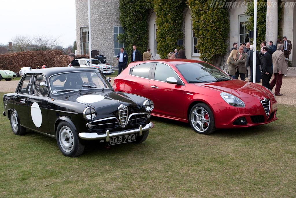 Alfa Romeo Giuliettas    - 2010 Goodwood Preview