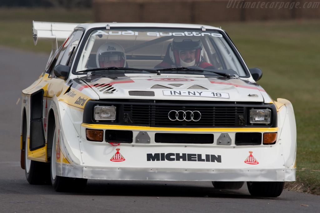 Audi Sport Quattro S1 E2 - Chassis: 85ZGA905002   - 2010 Goodwood Preview