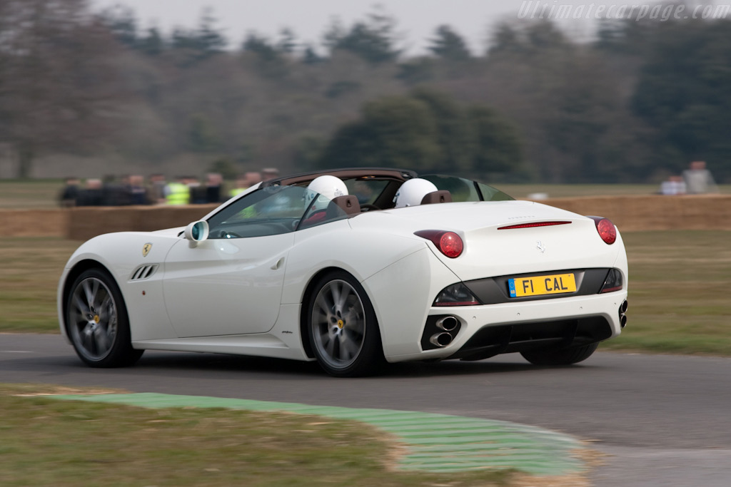 Ferrari California    - 2010 Goodwood Preview