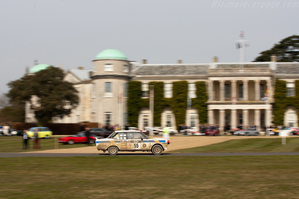 Fiat 131 Abarth    - 2010 Goodwood Preview