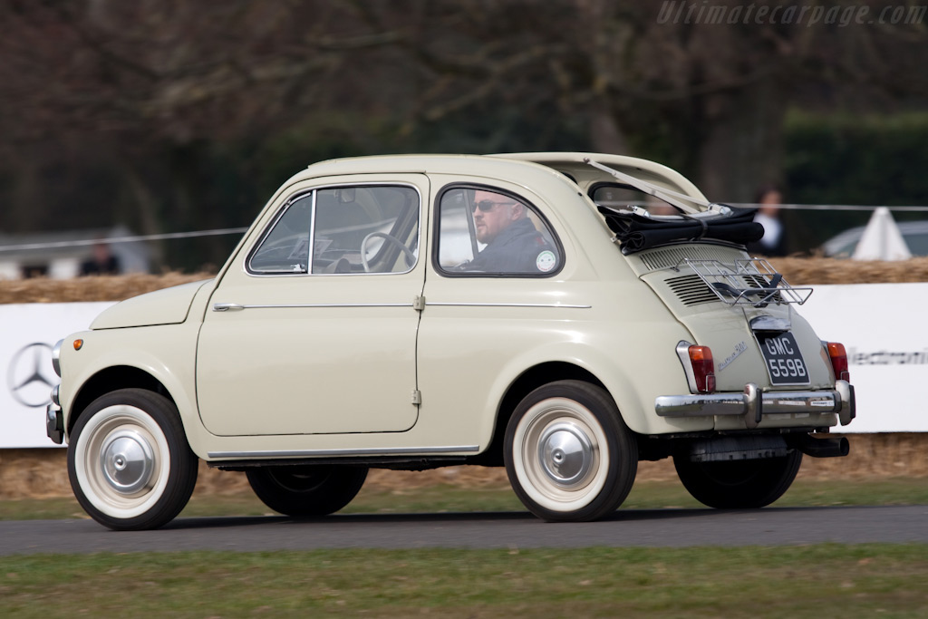 Fiat 500    - 2010 Goodwood Preview