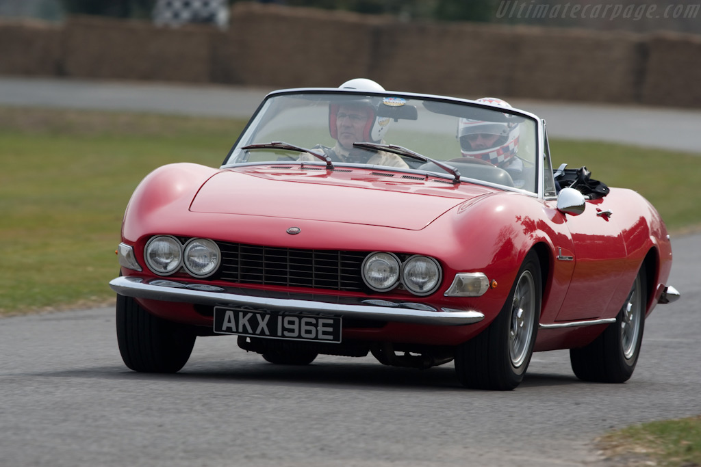 Fiat Dino Spyder    - 2010 Goodwood Preview