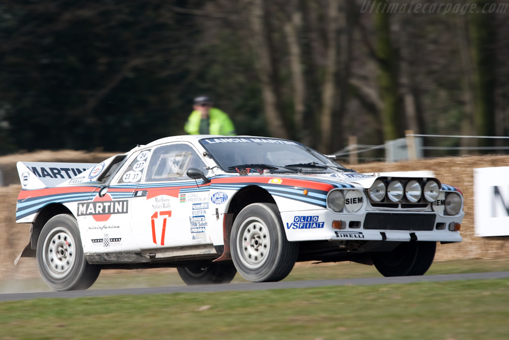 Lancia 037    - 2010 Goodwood Preview