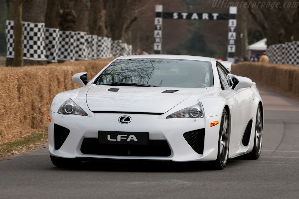 Lexus LFA    - 2010 Goodwood Preview