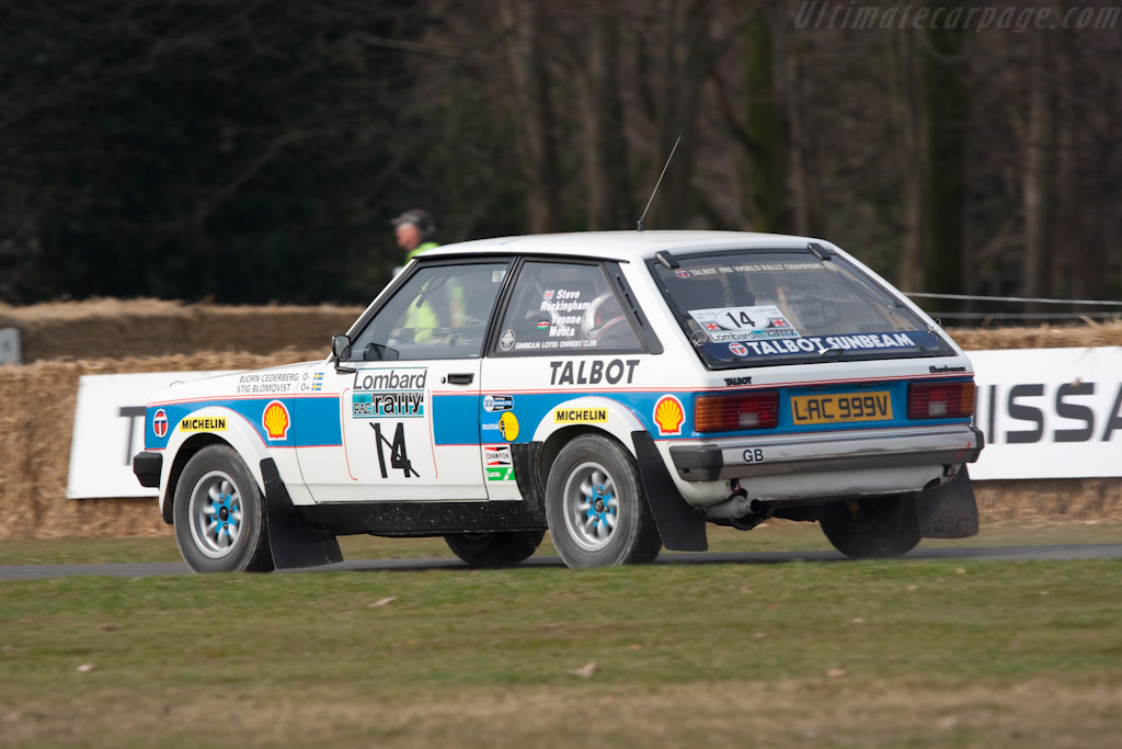 Lotus Sunbeam Talbot    - 2010 Goodwood Preview