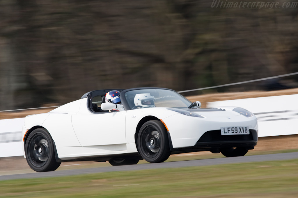 Tesla Roadster    - 2010 Goodwood Preview