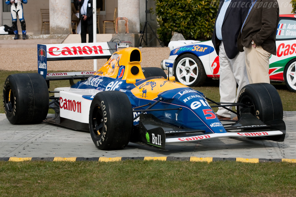 Williams FW14B Renault - Chassis: FW14-8   - 2010 Goodwood Preview