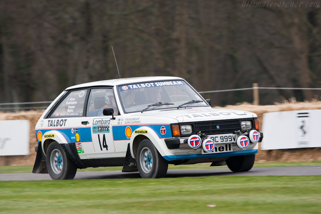 Talbot-Sunbeam Lotus    - 2011 Goodwood Preview