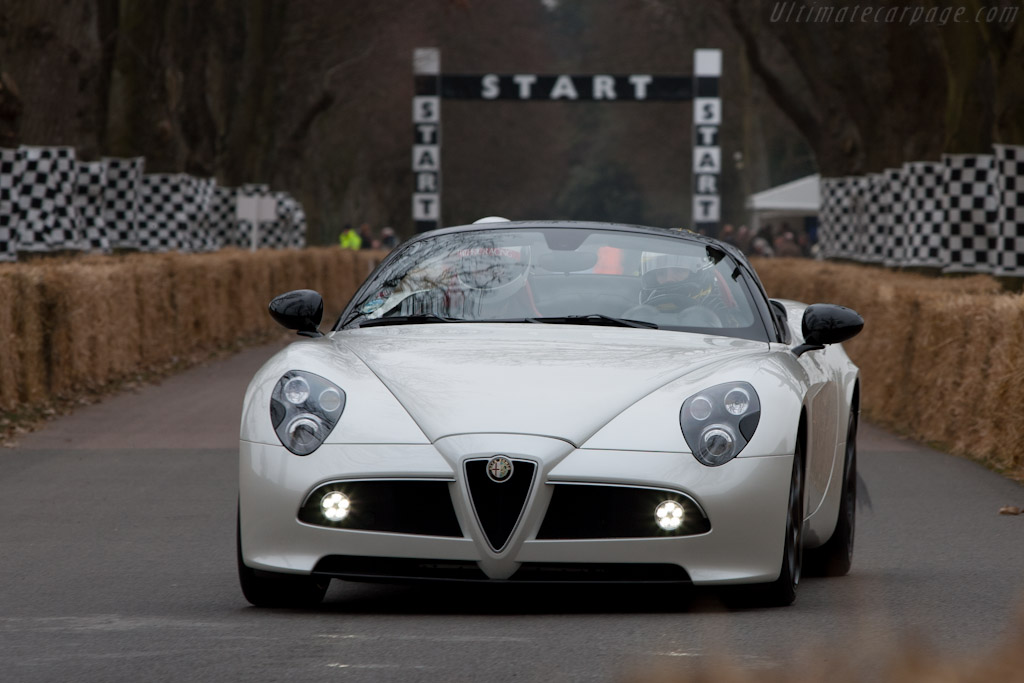 Alfa Romeo 8C Spider    - 2011 Goodwood Preview