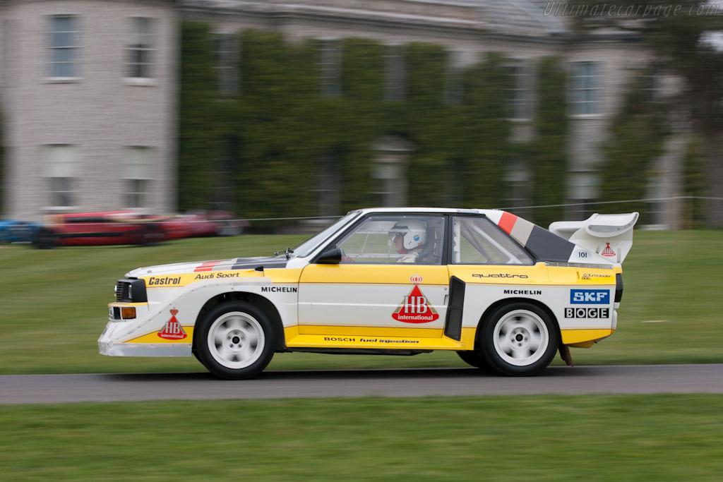 Audi Sport Quattro S1 E2 - Chassis: 85ZGA905002   - 2011 Goodwood Preview