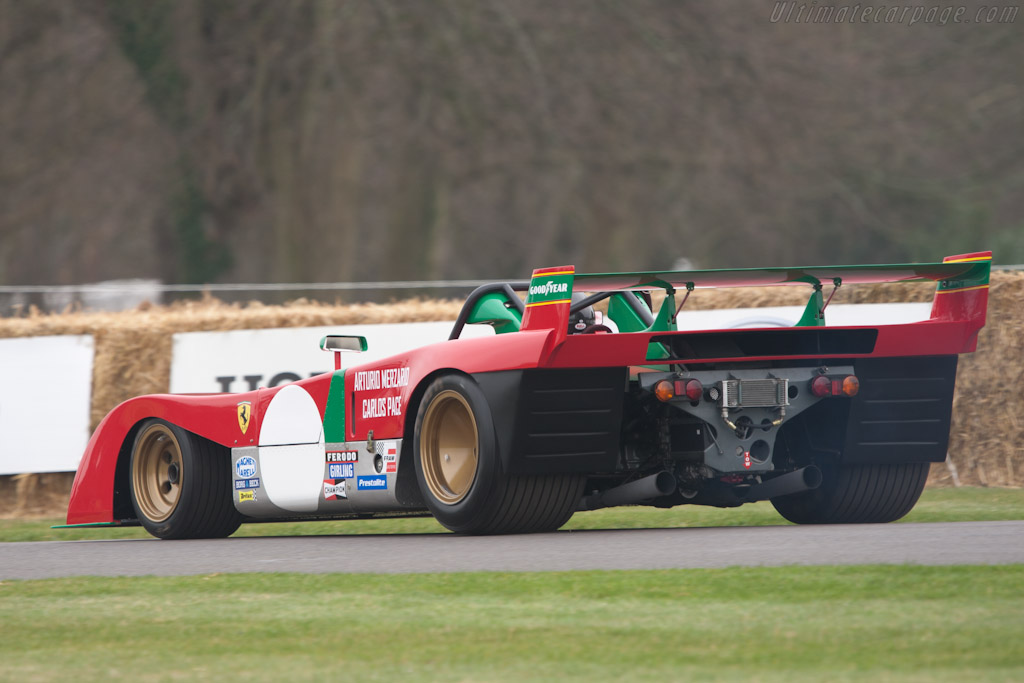 Ferrari 312 PB - Chassis: 0890 - Driver: Paul Knapfield  - 2011 Goodwood Preview