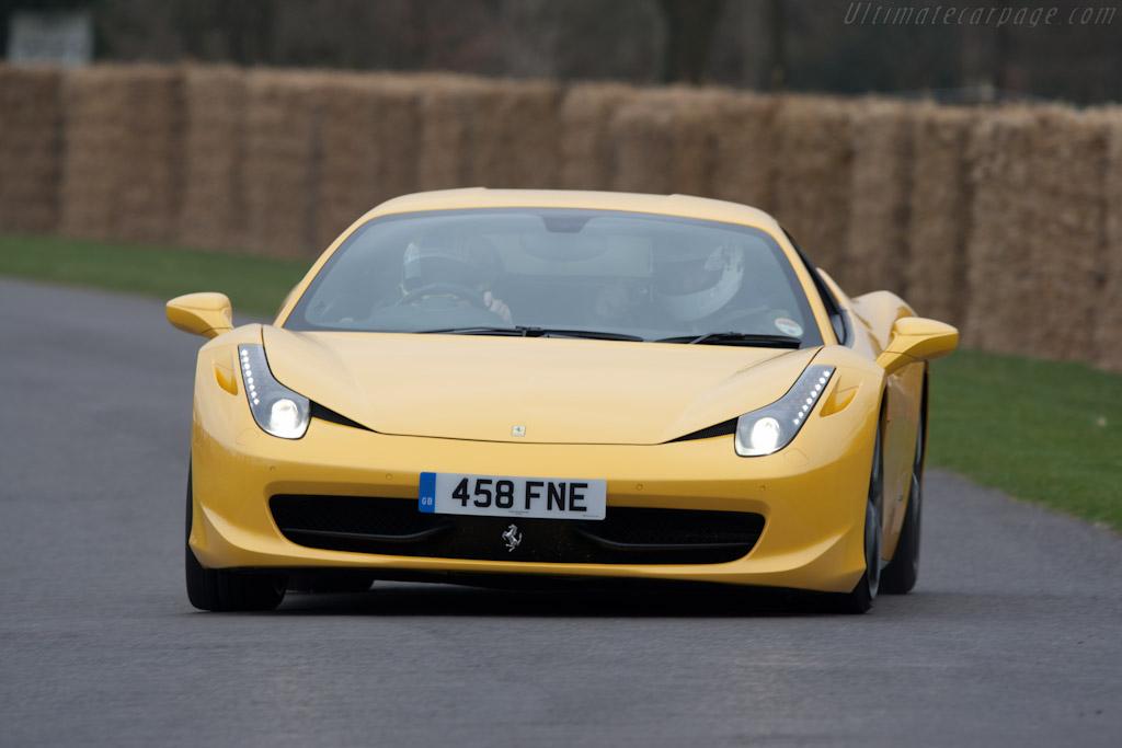 Ferrari 458 Italia   - 2011 Goodwood Preview