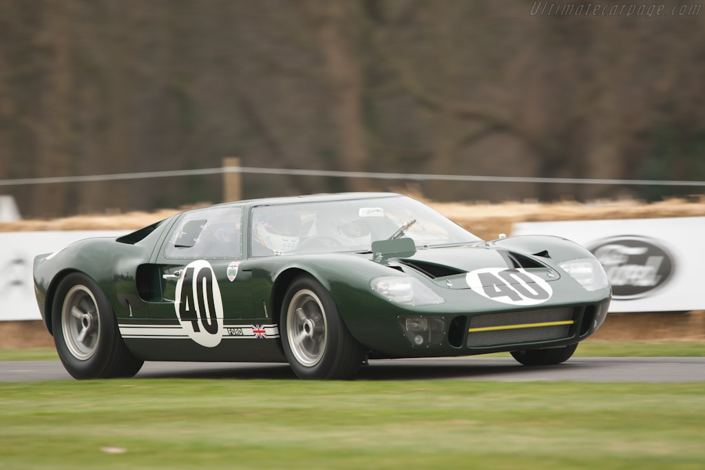 Ford GT40 - Chassis: GT40P/1009   - 2011 Goodwood Preview