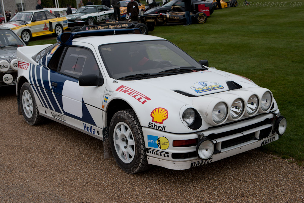 Ford RS200 - Chassis: SFACXXBJ2CGL00074   - 2011 Goodwood Preview