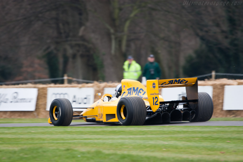 Lotus 102 Lamborghini - Chassis: 102/4   - 2011 Goodwood Preview