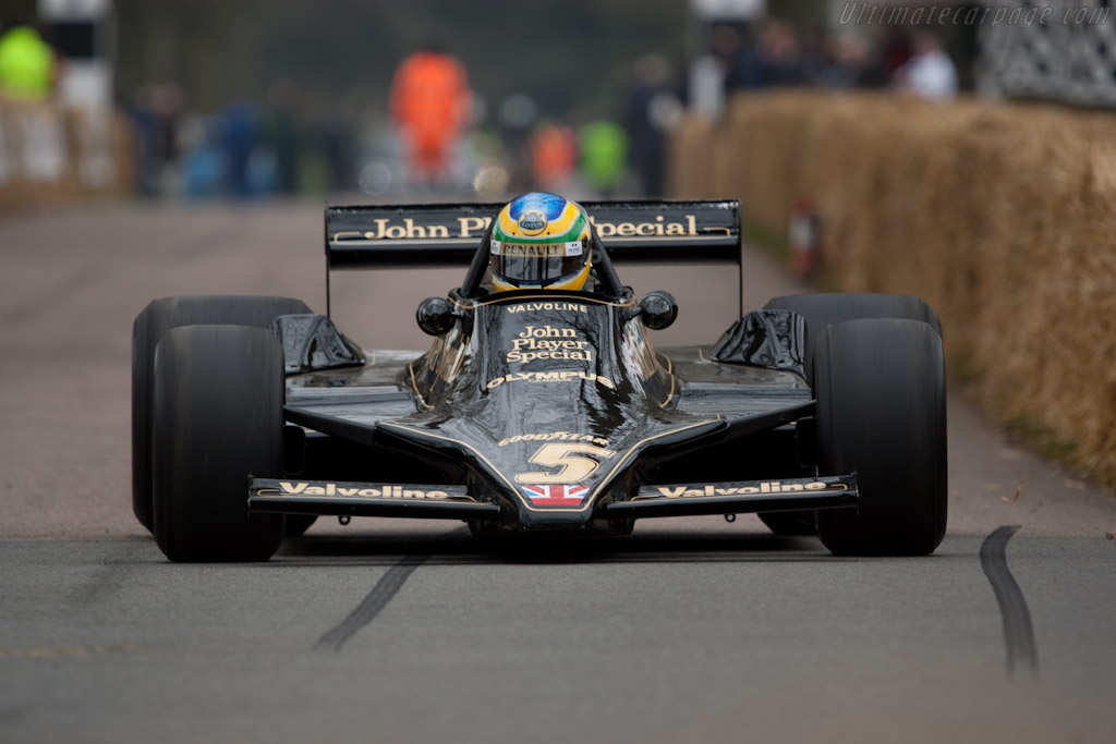 Lotus 79 Cosworth - Chassis: 79/3   - 2011 Goodwood Preview
