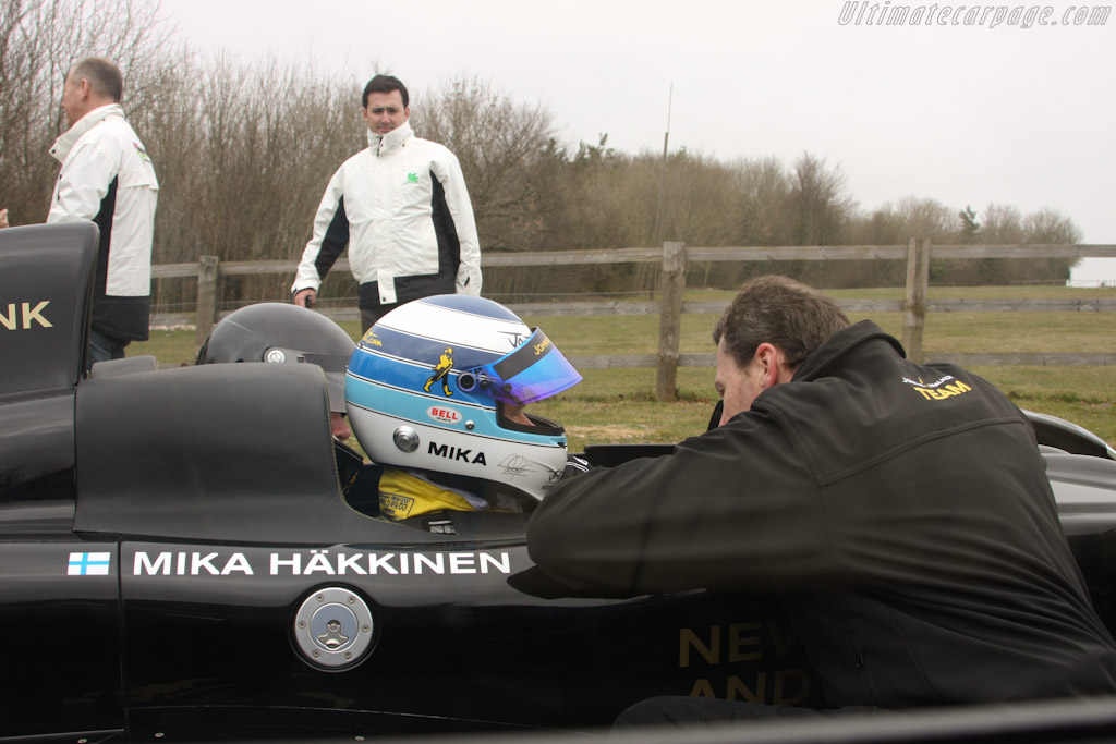 Mika Hakinen    - 2011 Goodwood Preview