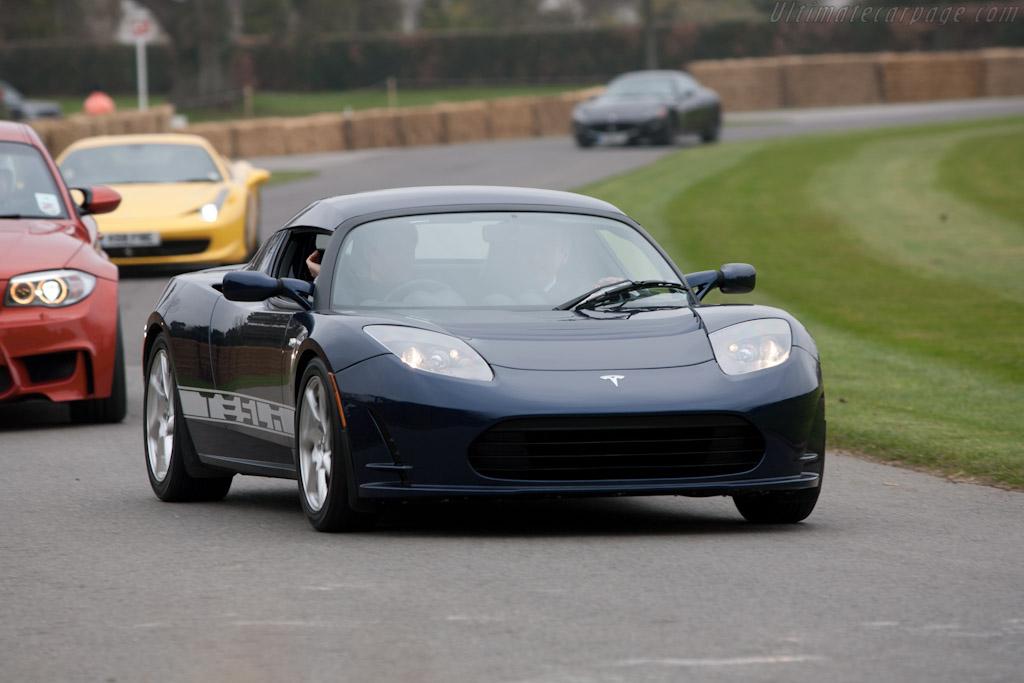 Tesla Roadster    - 2011 Goodwood Preview