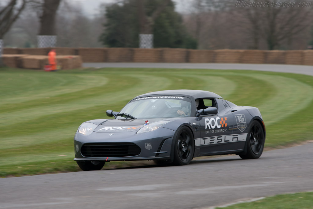 Tesla Roadster    - 2011 Goodwood Preview