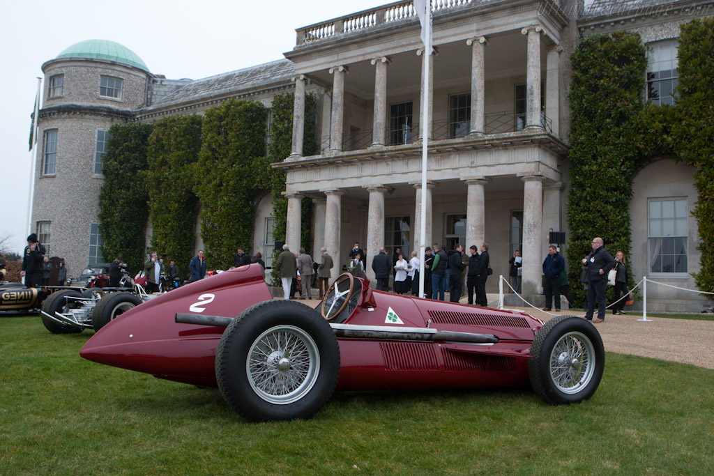 Alfa Romeo 159 Alfetta - Chassis: 159.107   - 2012 Goodwood Preview