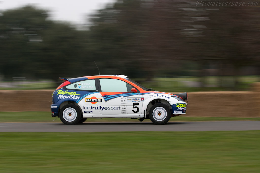 Ford Focus WRC   - 2012 Goodwood Preview