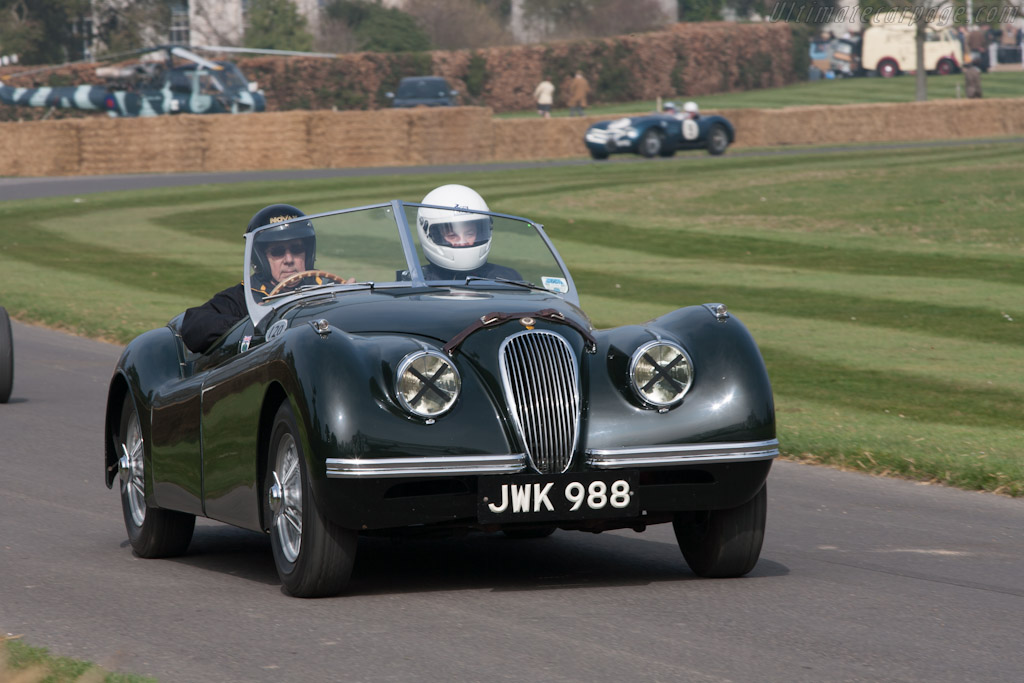Jaguar XK120    - 2012 Goodwood Preview