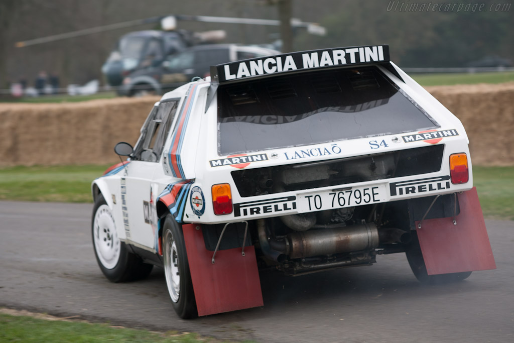 Lancia Delta S4 - Chassis: 214   - 2012 Goodwood Preview