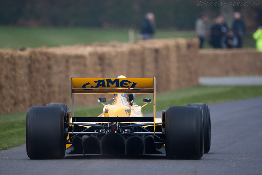 Lotus 102 - Chassis: 102/4   - 2012 Goodwood Preview