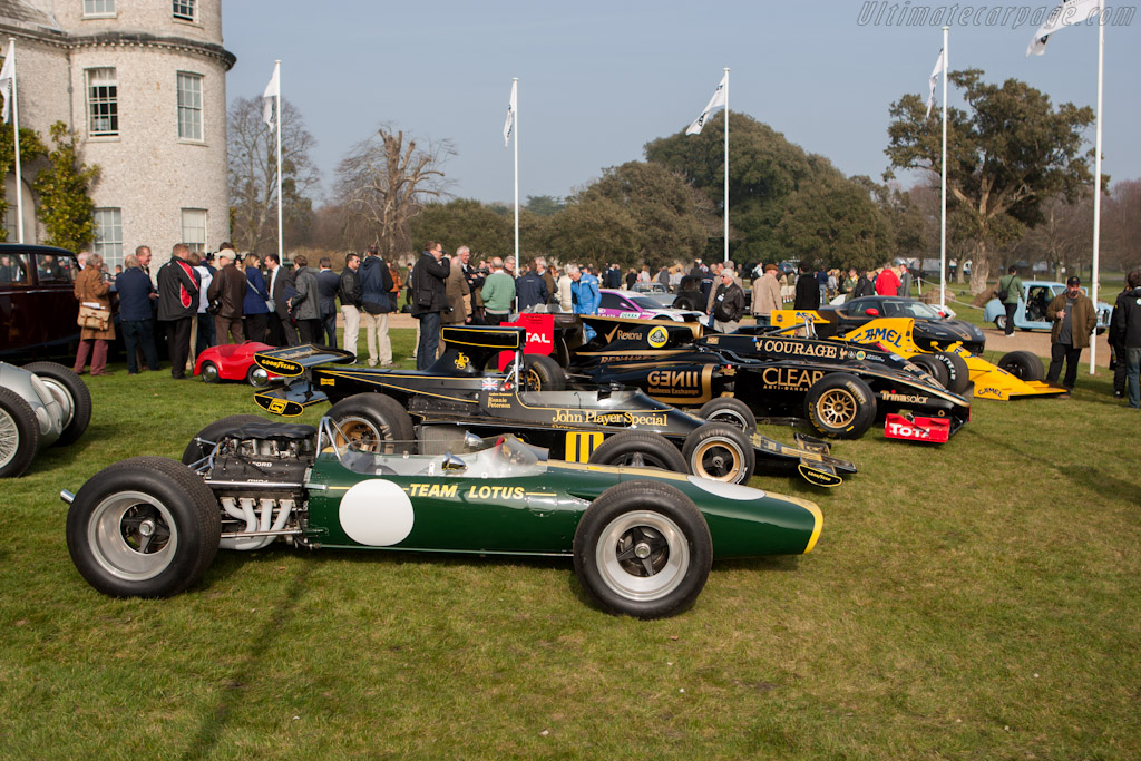 Lotus 49 - Chassis: R3   - 2012 Goodwood Preview