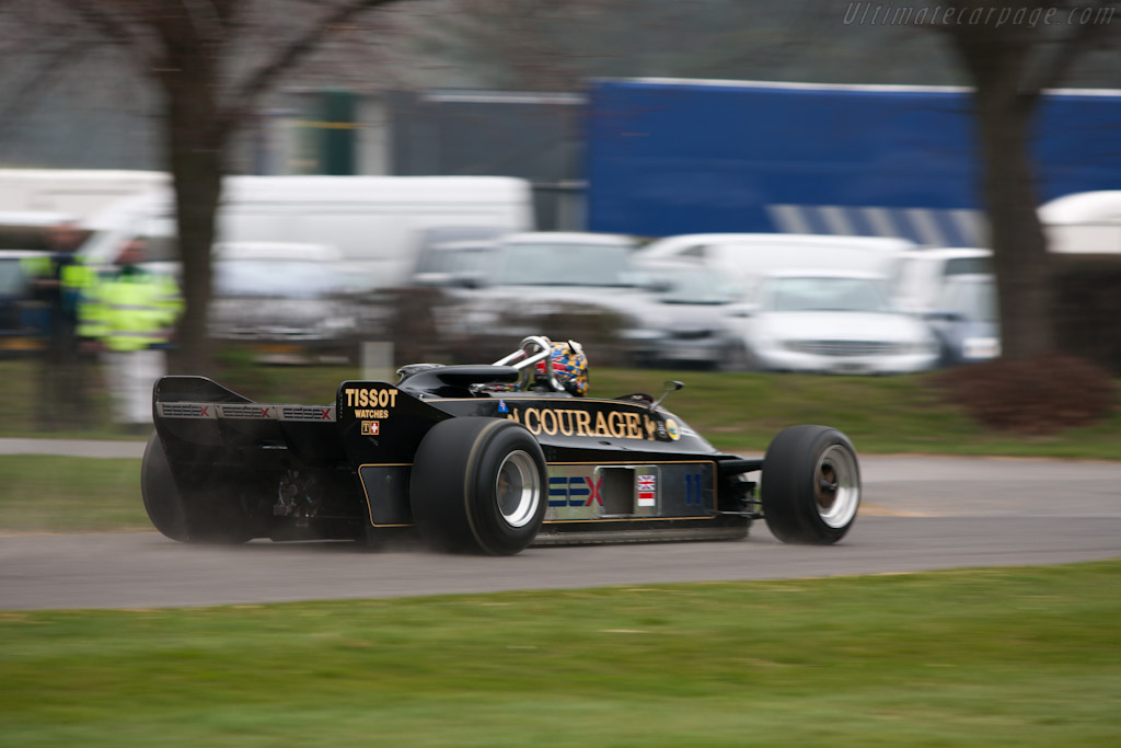 Lotus 88B - Chassis: 88/1   - 2012 Goodwood Preview