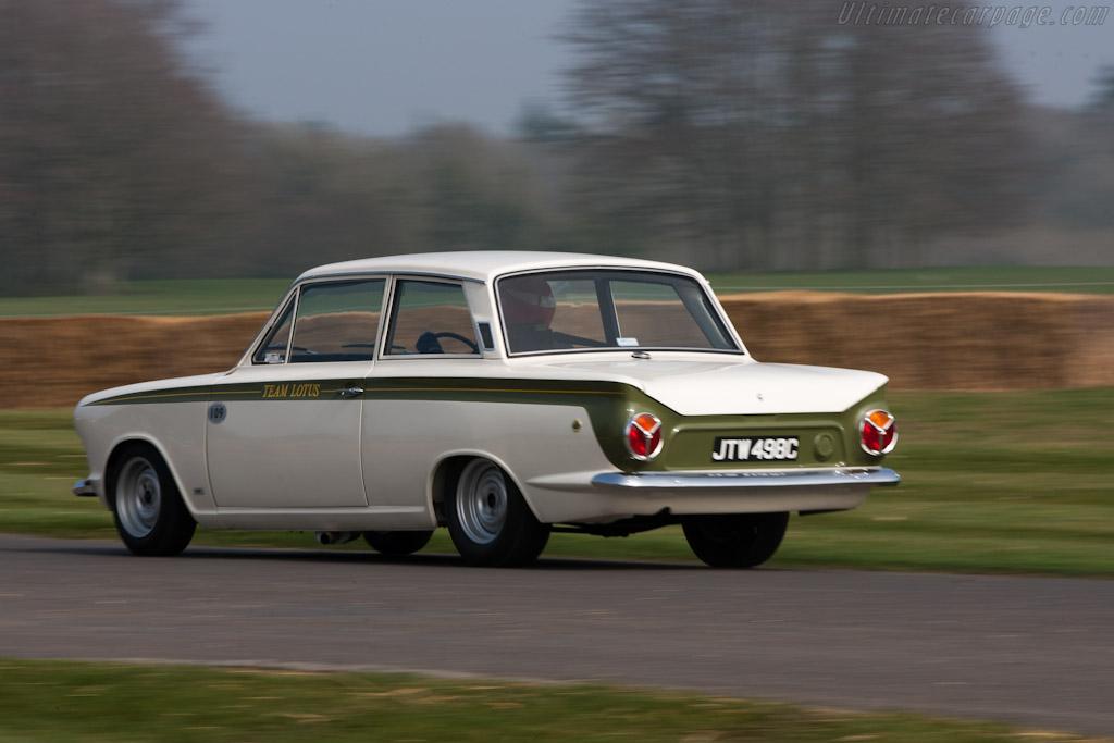 Lotus Cortina    - 2012 Goodwood Preview