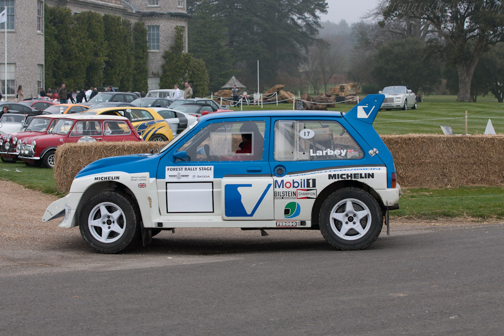 MG Metro 6R4    - 2012 Goodwood Preview