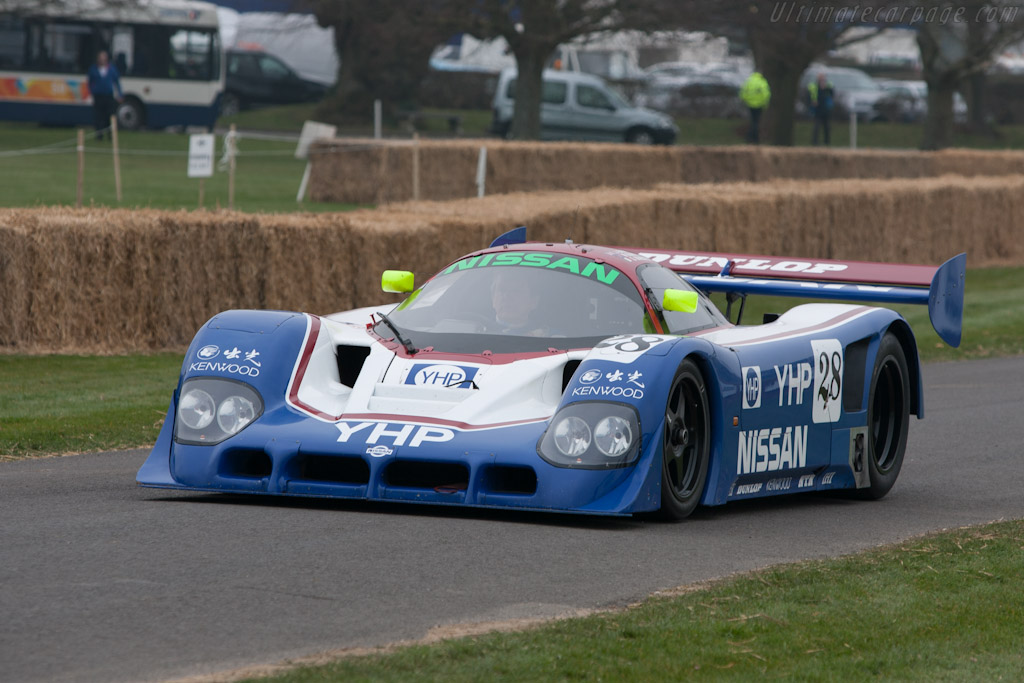 Nissan R90C - Chassis: R90C/1 - Driver: Kent Abrahamson - 2012 Goodwood Preview