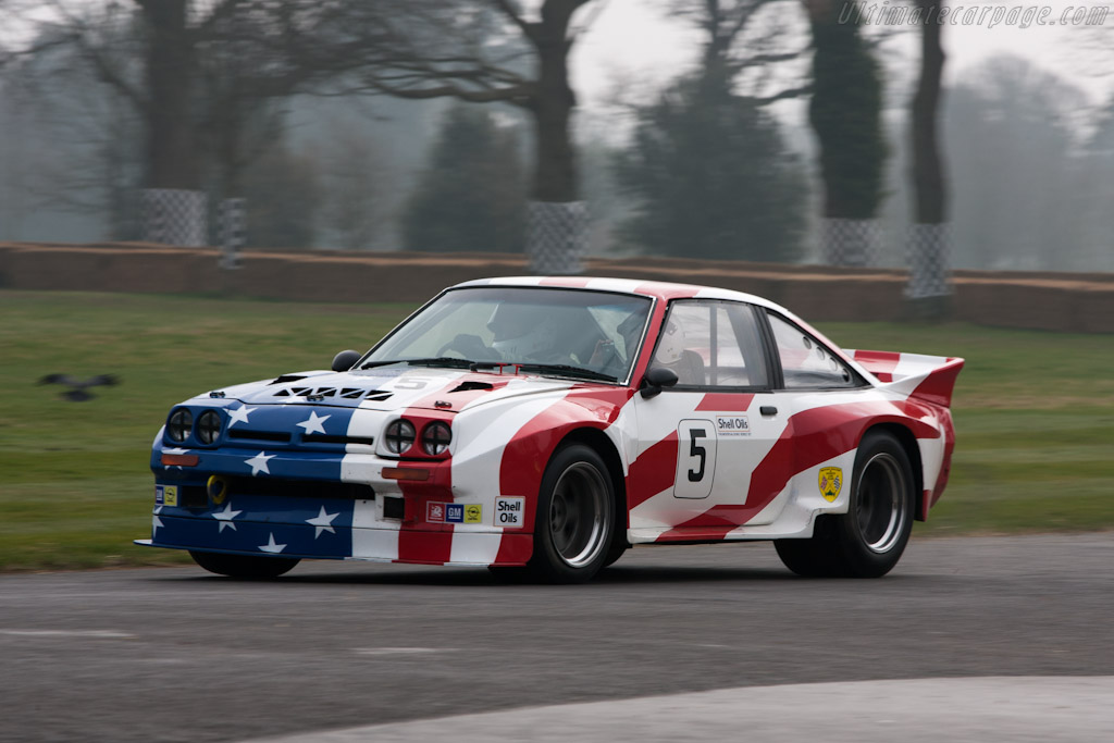 Opel Manta 400   - 2012 Goodwood Preview