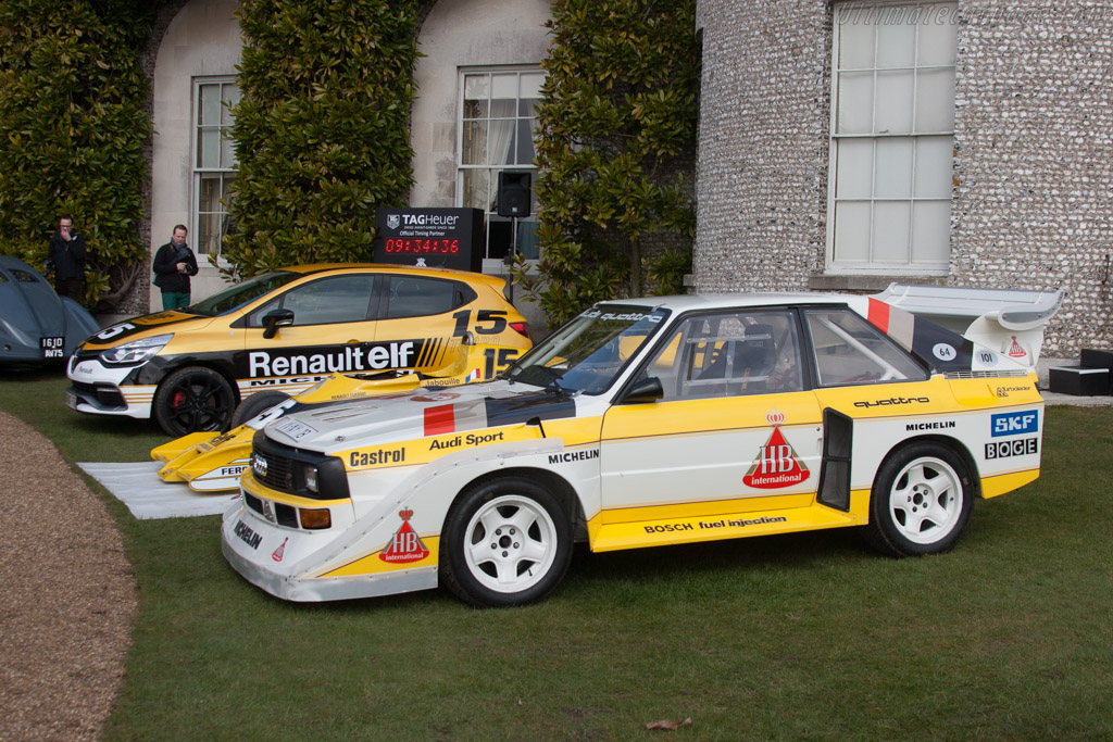 Audi Quattro S1 E2 - Chassis: 85ZGA905002   - 2013 Goodwood Preview