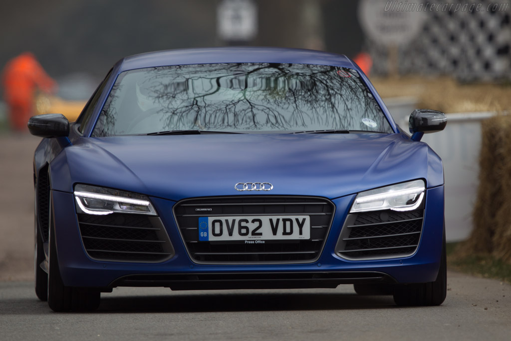 Audi R8 V10 Plus    - 2013 Goodwood Preview