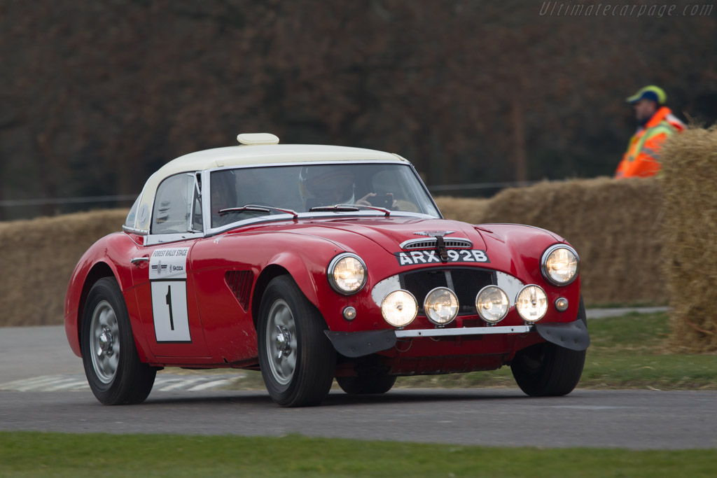 Austin Healey 3000 Works    - 2013 Goodwood Preview
