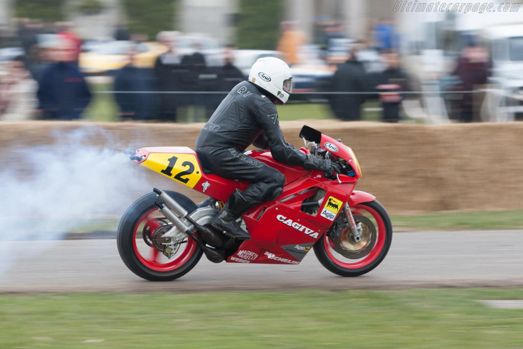 Cagiva V589    - 2013 Goodwood Preview