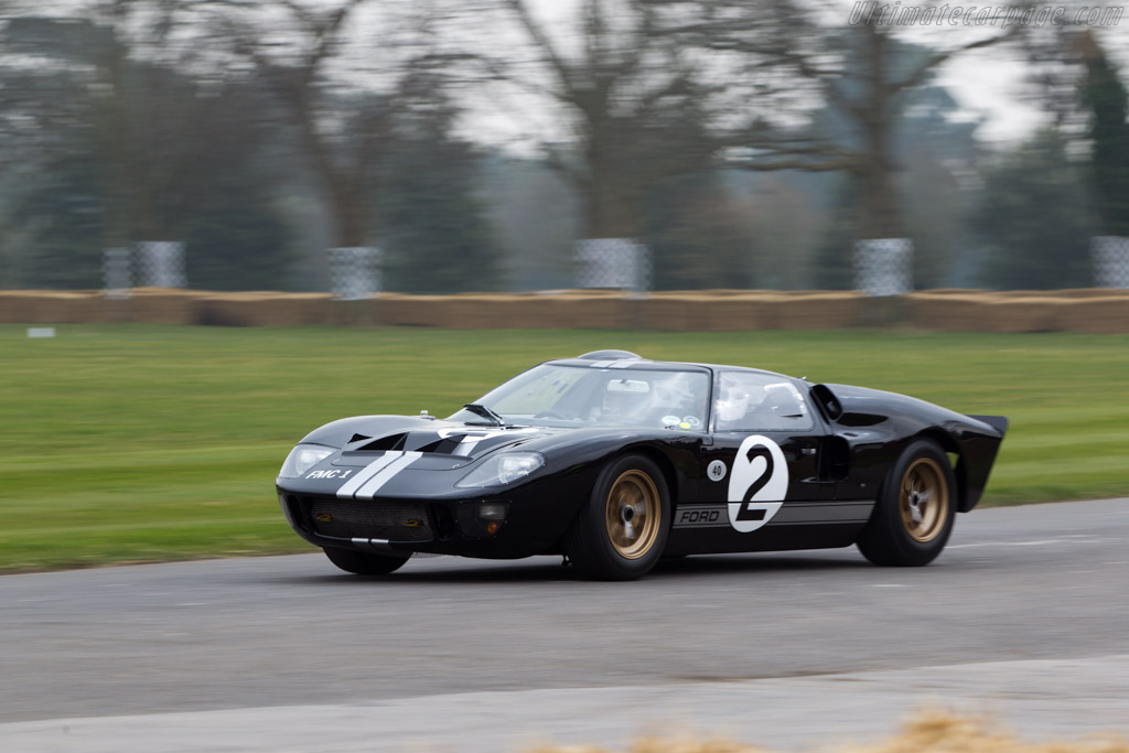Ford GT40 - Chassis: GT40P/1008   - 2013 Goodwood Preview